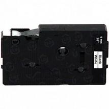 """Brother OEM TC20Z1 Black on White Tape (3/8"""") - $22.48"""