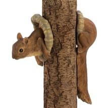 Squirrel Tree Yard Statue Outdoor Yard Patio Gift Animal Decor 12788 - €14,22 EUR