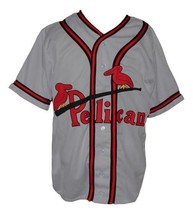Custom Name # New Orleans Pelicans Baseball Jersey 1940 Grey Any Size image 1