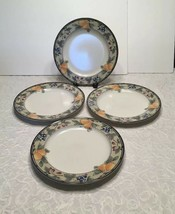 "Set of 4  MIKASA CAC29 INTAGLIO GARDEN HARVEST DINNER PLATES  DIAMETER 11""  - $36.09"