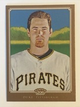 Zach Duke 2010 Topps 206 Bronze #34 Pittsburgh Pirates MLB Baseball Card - $1.39