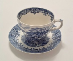 English Village, Salem China Co., Cup and Saucer - $7.00