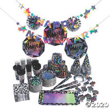 Deluxe Diamond New Year's Eve Party Kit for 100 - $424.73