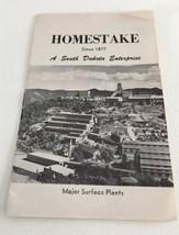Homestake Gold Mining Brochure South Dakota Vintage 1950s - $9.89