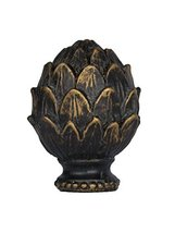 Urbanest Artichoke Lamp Finial, Bronze with Gold, 2-inch Tall - $8.90