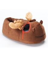 Kids Moose Slippers  Size M/L 2/3 NWT Brown - $13.99