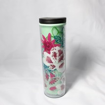 Starbucks 16oz Twist Lid Tall Tumbler Travel Mug Cup Hibiscus - $20.00