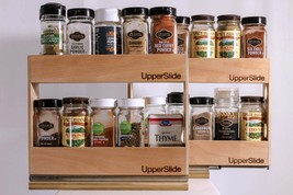 Upperslide Cabinet Caddies Spice Rack Starter/Expansion Pack #1 (US 303S... - £85.26 GBP
