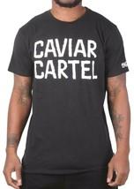 Caviar Cartel Ssur Homme Noir Blanc Imprimé 1969er Tatouage T-Shirt Nwt