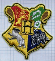 Harry Potter Hogwarts   Aufnäher Embroidered Cl... - $5.25
