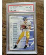 2000 SKYBOX IMPACT TOM BRADY ROOKIE CARD PATRIOTS BUCS GOAT PSA 8.5 NM-M... - $749.99