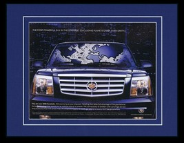 2002 Cadillac Escalade 11x14 Framed ORIGINAL Vintage Advertisement - $32.36