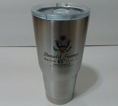 MAGA 45th President Donald Trump Make America Great Again Travel Mug Cup - $18.80