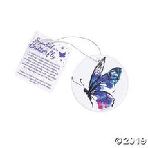 Symbol of the Butterfly Ornaments with Card - $27.75