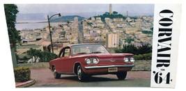 1964 Chevrolet Corvair Sales Brochure Buyer's Guide Dealer Car Advertising - $16.83