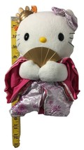 Hello Kitty Japanese Kimono Geisha  Plush Doll   - $10.89