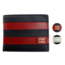 Tommy Hilfiger Men's Leather Credit Card ID Wallet Passcase Billfold 31TL22X040