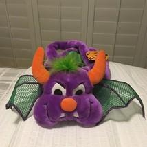 Halloween DRAGON Trick Or Treat BASKET - $14.84