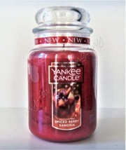 Yankee Candle Spiced Berry Sangria Scented Large Classic Jar Candle - $30.00