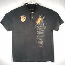 Hard Rock Cafe Men's Large New York Polo Shirt Embroidered - $37.39