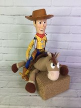 Hasbro Disney Pixar Toy Story Woody Bullseye The Horse Soft Hard Plush D... - $37.40