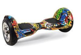 "10"" Hip Hop Graffiti Yellow Bluetooth Hoverboard Self Balancing Scooter - $279.00"