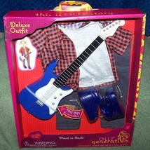 "Our Generation PLAID to ROCK Deluxe Outfit for Most 18"" Boy Dolls New - $30.88"