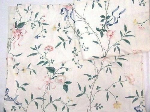 Primary image for Waverly Spring Meadow Floral Cotton 2-PC 84 x 86 Lined Drapery Panel Set(s)