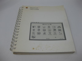 Vintage Apple Mac HyperCard User's Guide Manual - $14.99
