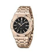 Benyar Men's Analog Quartz Wrist Watch BY-5156 (Rose Gold) - $48.00