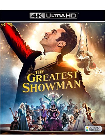 The Greatest Showman (4K Ultra HD+Blu-ray, 2018)