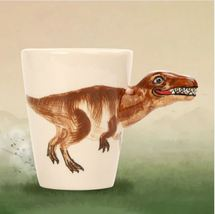 Dinosaur 3D Handle Tyrannosaurus Mugs Coffee Milk Tea Cup Drinkware Chil... - $36.95