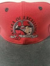 Vintage Nebraska Cornhuskers 90s Tom Osborne hat football cap snapback Anniv. - $31.67