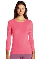 Calvin Klein Comfort Cotton 3/4 Sleeve Top in Crab Apple size XS (NWT $50) - $14.84