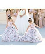Cute 3D Print Flower Girl Dresses for Wedding - £94.58 GBP+