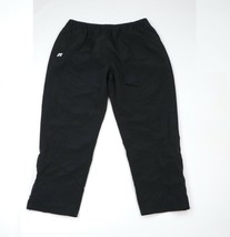 Vtg 90s Russell Athletic Mens 3XL Stitched Logo Lined Nylon Tapered Leg ... - $44.50