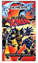 X-Men (Sega Genesis Game)  Complete with Case & Manual image 3