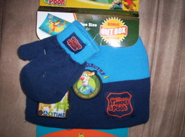 Toddler Disney Tigger Pooh Hat Glove Mittens OSFM - $15.47