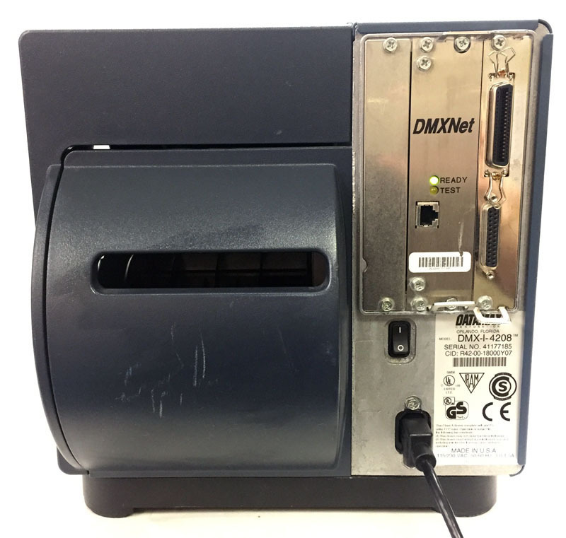 Datamax Network Label Thermal Printer DMX-I-4208 Bin:9