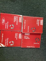 2003 Lincoln Town Car Service Shop Repair Workshop Manual Set W EWD + FA... - $336.55