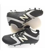 Mens New Balance Black Grey Brine Lacrosse Cleats Sz 10 - $129.99