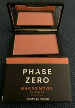 PHASE ZERO MAKE UP Blusher Making Moves Blush NEW in BOX $27 - $6.47