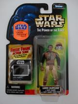 1997 Star Wars POTF Lando Calrissian Freeze Frame Action Slide Action Fi... - $15.00