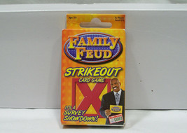 NEW Family Feud Strikeout Survey Showdown Card Game 3+ Players Ages 10+ - $6.66