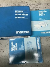 1994 Mazda 626 MX6 MX-6 Service Repair Shop Manual FACTORY OEM W EWD & Body - $128.65