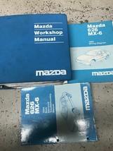 1994 Mazda 626 MX6 MX-6 Service Repair Shop Manual Factory Oem W Ewd & Body - $128.65