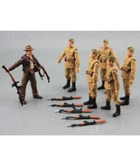 Lot 6 Russian Soldiers Troopers Indiana Jones 3 3/4 inches - brand new - $17.99