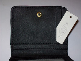NWT Fossil Madison Woven Bifold Mini Wallet w/ Leather Trim +25%off next order* image 9