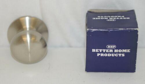 Better Home Products 52315SN Mushroom Knob Dummy Satin Nickel