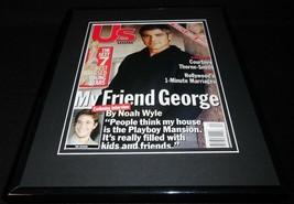 George Clooney 11x14 Framed ORIGINAL 2001 US Magazine Cover - $22.55